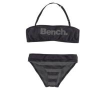 Bandeau-Bikini schwarz