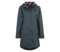 Regenjacke 'Steife Briese Friese' navy