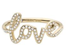 Ring goldgelb / weiß