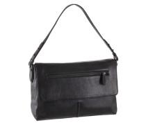 Handtasche aus Leder schwarz