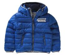 Winterjacke für Jungen blau