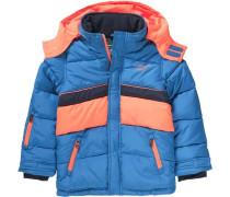 SkijackeTATUL für Jungen blau / orange