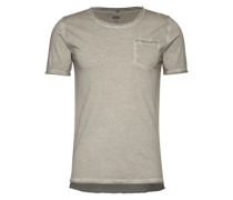T-Shirt mit Brusttasche 'Cirico' grau