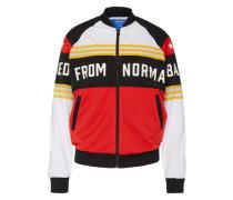 Sportliche Jacke rot / schwarz