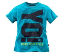 """T-Shirt """"yo!"""" blau"""