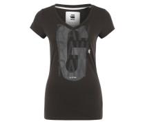 T-Shirt 'Phili' schwarz