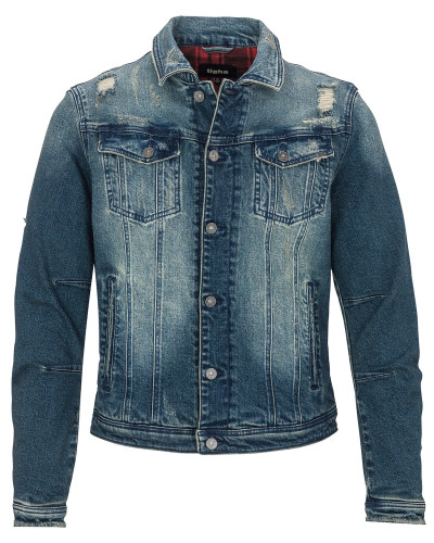Jeansjacke 'Timmy' blue denim