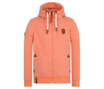 Zipped Jacket hellorange