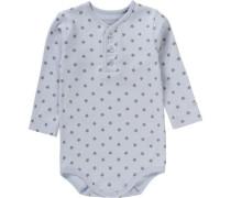 Baby Body für Jungen Organic Cotton blau