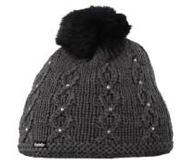 Mütze Miranda Fur Crystal grau