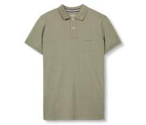 Piquee-Poloshirt khaki