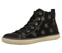 Sneaker beige / graumeliert / schwarz