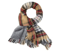 Schal »Double sided patterned & brushed scarf« mischfarben