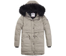 Mantel 'down Parka 20' taupe