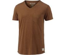 T-Shirt Herren braun