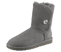 Stiefel »Bailey Button Bling« grau