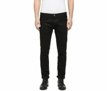 Slim-fit-Jeans 'Anbass' schwarz