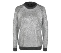 Pullover 'R-Nack Gold' silber