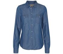 Hemd Jeans blau