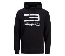 Logo-Sweatshirt schwarz