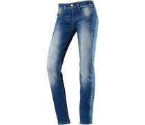 Skinny Fit Jeans 'Gila' blue denim