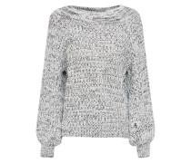 Pullover 'twist Yarn Bardot' hellgrau