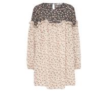 Kleid 'hp0015' beige / schwarz