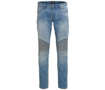 Slim Fit Jeans 'glenn' blue denim