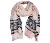 Jacquard-Schal pink