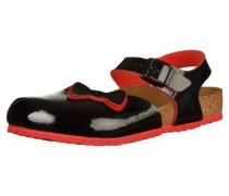 Sandalen 'Anguilla Ribbon' Schmal schwarz
