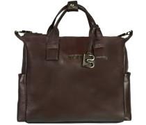 Nola 7 Businesstasche Leder 37 cm Laptopfach braun