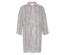 Long-Bluse 'Galetta' schwarz / weiß