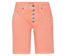 'shorts' Mid Waist Jeans koralle