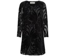 Langärmeliges Kleid schwarz
