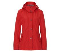 Jacke im modernen Stil rot