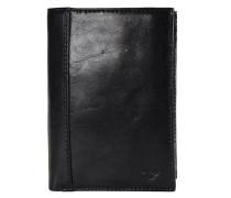 Bern Geldbörse Leder 9.5 cm schwarz