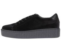 Plateau-Sneaker Gloria schwarz