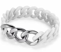 Armband grau / weiß