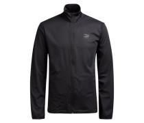 Praktische Softshell-Jacke schwarz