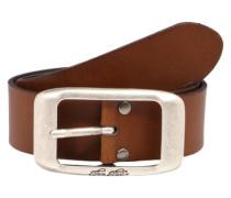 Ledergürtel 'used cow leather belt'