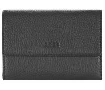 Sofia 108 Geldbörse Leder 13 cm schwarz