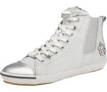 Sneakers 'Exter' silber / weiß