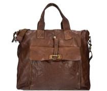 Milan Shopper Tasche Leder 36 cm braun