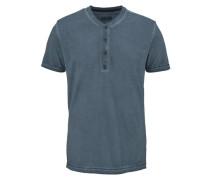 Henleyshirt blau