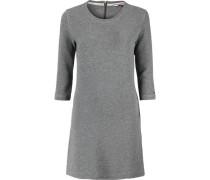 Kleid 'thdw Basic Knit Dress 3/4 SLV 2' graumeliert