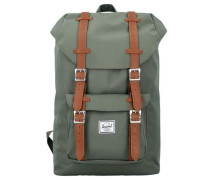Rucksack mit Laptopfach 'Little America 17 Mid Volume Backpack' grün