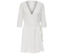 Detailreiches Kleid weiß