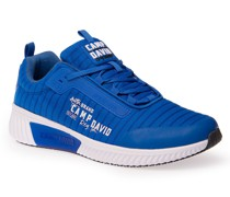Sneaker aus Mesh mit Streifen-Design