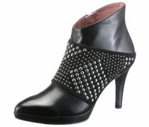 High-Heel-Stiefelette 'Heart & Sole' schwarz