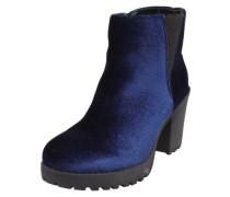 Ankle Boots 'Fee Chunky Heel Velvet'